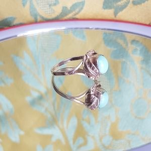 Jewelry - SS and larimar ring